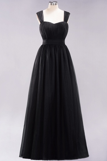 BMbridal Gorgeous Sweetheart Straps Ruffle Burgundy Bridesmaid Dresses Online_28