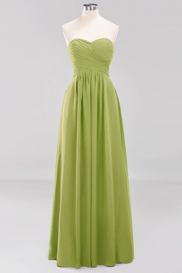 Vintage Sweetheart Long Grape Affordable Bridesmaid Dresses Online_32