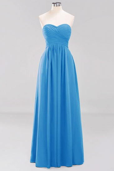 Vintage Sweetheart Long Grape Affordable Bridesmaid Dresses Online_24