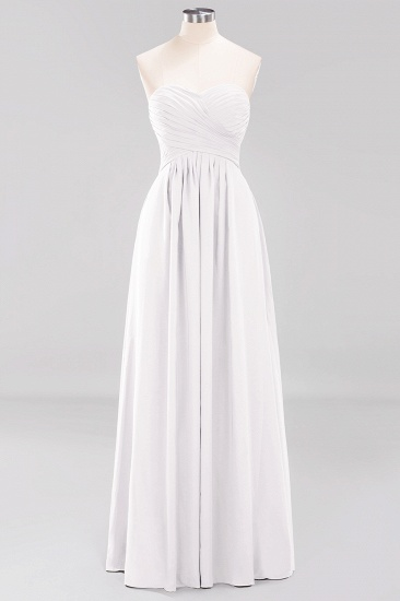 Vintage Sweetheart Long Grape Affordable Bridesmaid Dresses Online_1