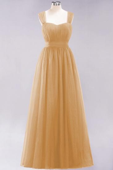 BMbridal Gorgeous Sweetheart Straps Ruffle Burgundy Bridesmaid Dresses Online_13