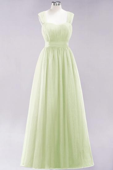 BMbridal Gorgeous Sweetheart Straps Ruffle Burgundy Bridesmaid Dresses Online_33