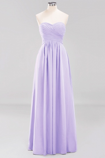 Vintage Sweetheart Long Grape Affordable Bridesmaid Dresses Online_20