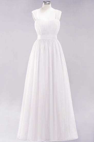BMbridal Gorgeous Sweetheart Straps Ruffle Burgundy Bridesmaid Dresses Online_1