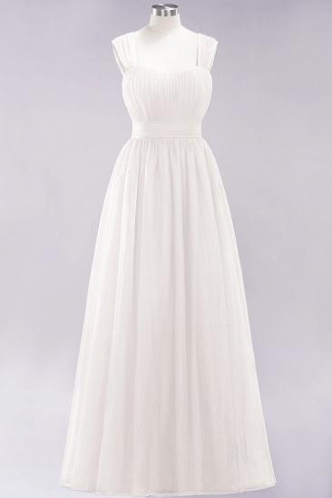 BMbridal Gorgeous Sweetheart Straps Ruffle Burgundy Bridesmaid Dresses Online_2
