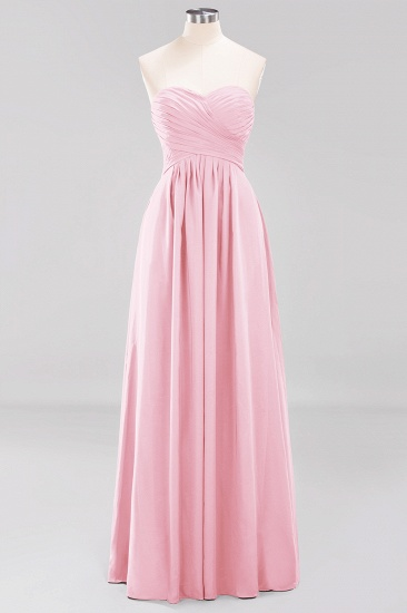 Vintage Sweetheart Long Grape Affordable Bridesmaid Dresses Online_4