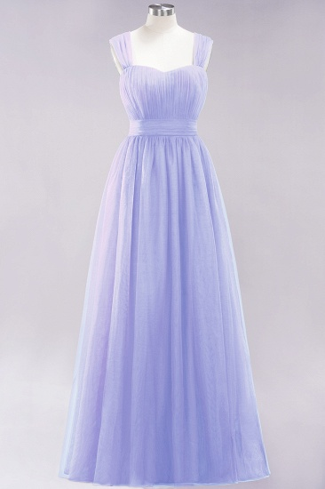BMbridal Gorgeous Sweetheart Straps Ruffle Burgundy Bridesmaid Dresses Online_21
