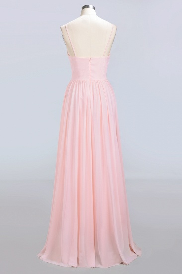 BMbridal Chiffon Spaghetti-Straps Sleeveless Affordable Bridesmaid Dress Online_10