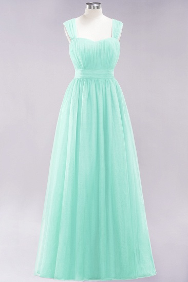 BMbridal Gorgeous Sweetheart Straps Ruffle Burgundy Bridesmaid Dresses Online_34