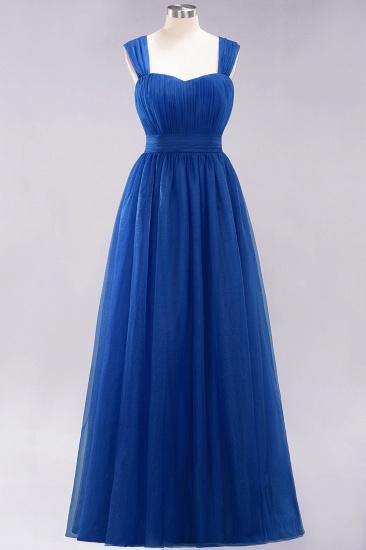 BMbridal Gorgeous Sweetheart Straps Ruffle Burgundy Bridesmaid Dresses Online_25