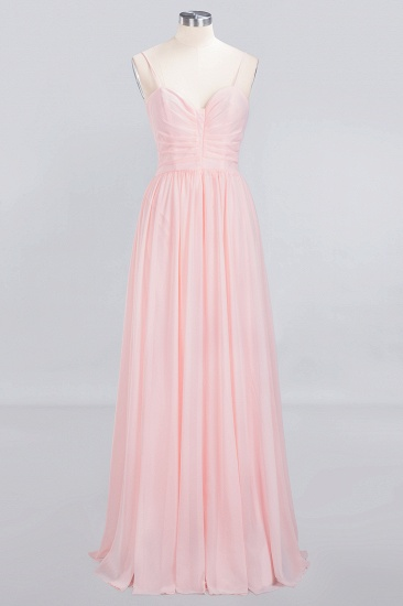 BMbridal Chiffon Spaghetti-Straps Sleeveless Affordable Bridesmaid Dress Online_1