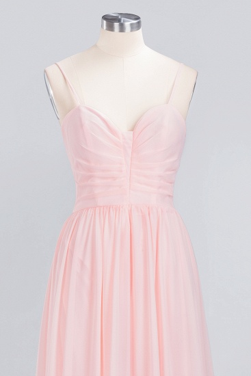 BMbridal Chiffon Spaghetti-Straps Sleeveless Affordable Bridesmaid Dress Online_12