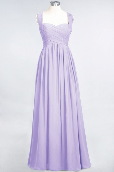 Chic Tiered Sweetheart Cap-Sleeves Bungurdy Bridesmaid Dresses_21