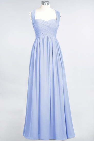 Chic Tiered Sweetheart Cap-Sleeves Bungurdy Bridesmaid Dresses_22