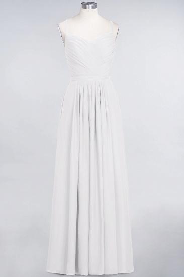 Glamorous Spaghetti Straps Sweetheart Ruffle Chiffon Bridesmaid Dress Online_1