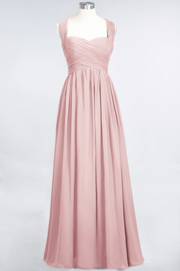 Chic Tiered Sweetheart Cap-Sleeves Bungurdy Bridesmaid Dresses_6