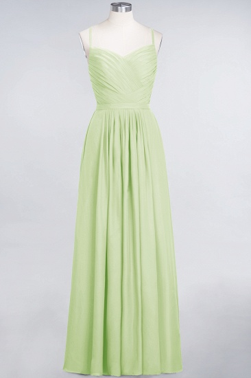 BMbridal Glamorous Spaghetti Straps Sweetheart Ruffle Chiffon Bridesmaid Dress Online_35
