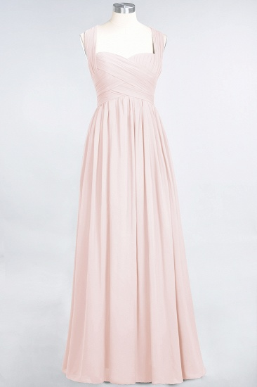 Chic Tiered Sweetheart Cap-Sleeves Bungurdy Bridesmaid Dresses_5