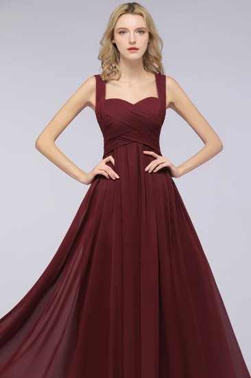 Chic Tiered Sweetheart Cap-Sleeves Bungurdy Bridesmaid Dresses_55