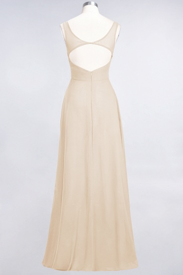 BMbridal Chic Chiffon V-Neck Straps Ruffle Affordable Bridesmaid Dresses with Open Back_56