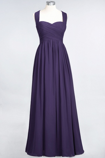 Chic Tiered Sweetheart Cap-Sleeves Bungurdy Bridesmaid Dresses_19