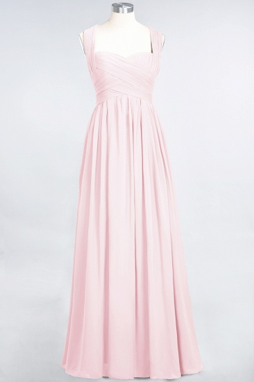 Chic Tiered Sweetheart Cap-Sleeves Bungurdy Bridesmaid Dresses_3