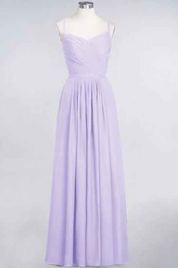 Glamorous Spaghetti Straps Sweetheart Ruffle Chiffon Bridesmaid Dress Online_20