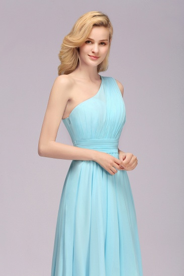 BMbridal Chic Hi-Lo One Shoulder Ruffle Affordable Bridesmaid Dress Affordable_9