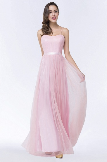Long Sleeves Bridesmaid Dresess with Sash