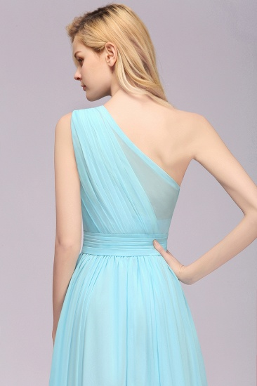 BMbridal Chic Hi-Lo One Shoulder Ruffle Affordable Bridesmaid Dress Affordable_8