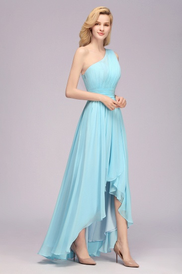 BMbridal Chic Hi-Lo One Shoulder Ruffle Affordable Bridesmaid Dress Affordable_7