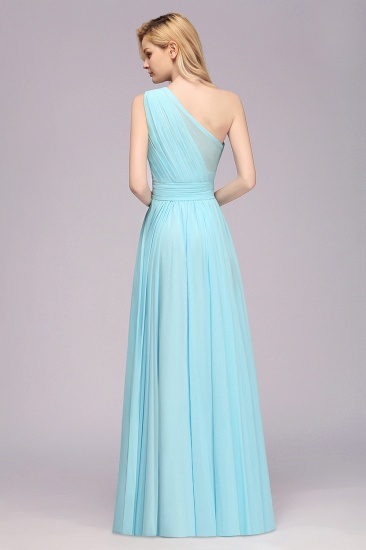 BMbridal Chic Hi-Lo One Shoulder Ruffle Affordable Bridesmaid Dress Affordable_3