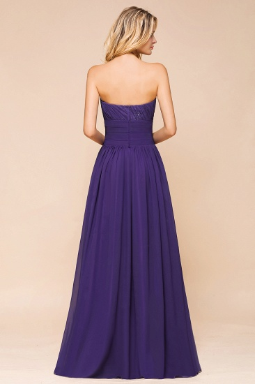 BMbridal Affordable Sweetheart Sequins Regency Bridesmaid Dress with Pleats_3