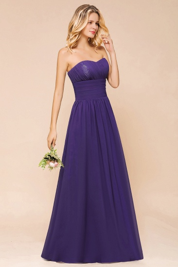 BMbridal Affordable Sweetheart Sequins Regency Bridesmaid Dress with Pleats_5