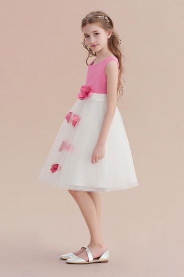 BMbridal A-Line Affordable Tulle Flower Girl Dress Online_4