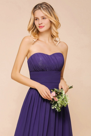 BMbridal Affordable Sweetheart Sequins Regency Bridesmaid Dress with Pleats_9
