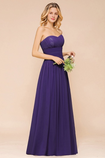 BMbridal Affordable Sweetheart Sequins Regency Bridesmaid Dress with Pleats_7