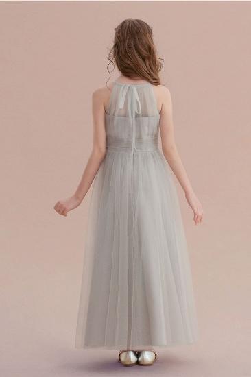 BMbridal A-Line Chic Ankle Length Tulle Flower Girl Dress Online_3