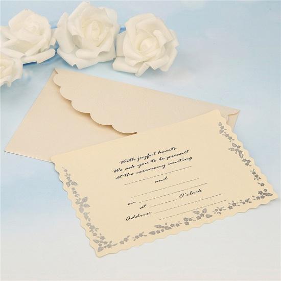 Modern Tri-Fold Bowknot Style Invitation Cards (Set of 50)_9