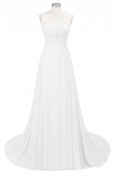 BMbridal Chic Jewel Chiffon Tulle Party Dress with Sequins_1