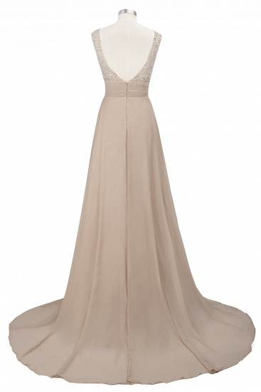 BMbridal Chic Jewel Chiffon Tulle Party Dress with Sequins_13