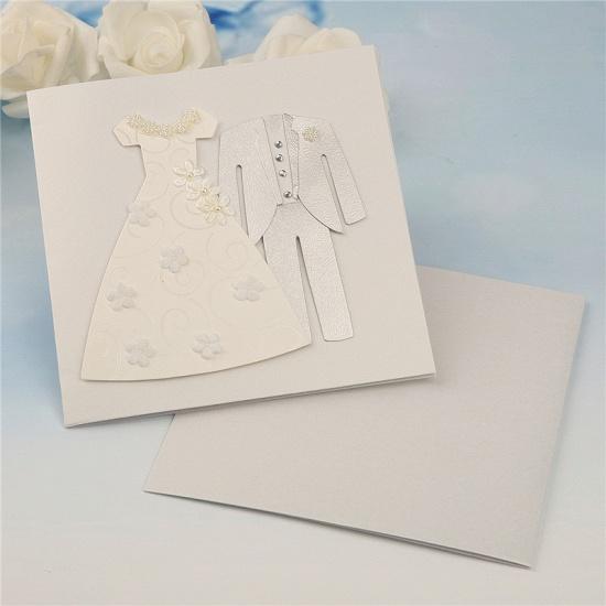 Popular Side-Fold Handmade Invitation Cards (Set of 50)_4