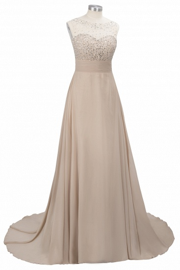 BMbridal Chic Jewel Chiffon Tulle Party Dress with Sequins_12