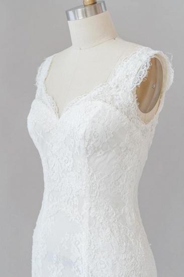 BMbridal Eye-catching Sweetheart Lace Mermaid Wedding Dress On Sale_6