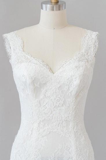 BMbridal Eye-catching Sweetheart Lace Mermaid Wedding Dress On Sale_7