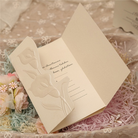 BMbridal Popular Style Tri-Fold Invitation Cards (Set of 50)_3