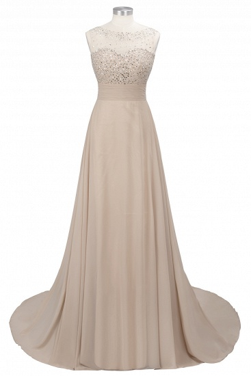 BMbridal Chic Jewel Chiffon Tulle Party Dress with Sequins_14