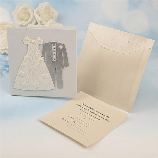 Popular Side-Fold Handmade Invitation Cards (Set of 50)_6