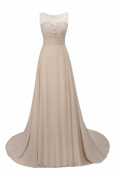 BMbridal Chic Jewel Chiffon Tulle Party Dress with Sequins_10