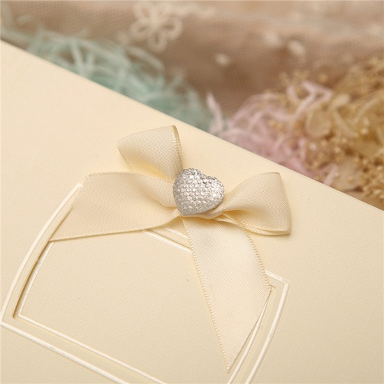 Classic Side-Fold Bowknot Style Invitation Cards (Set of 50)_4